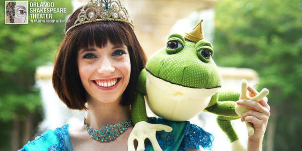 Orlando Shakespeare Theater Presents The Frog and the Princess - Kristin Shirilla