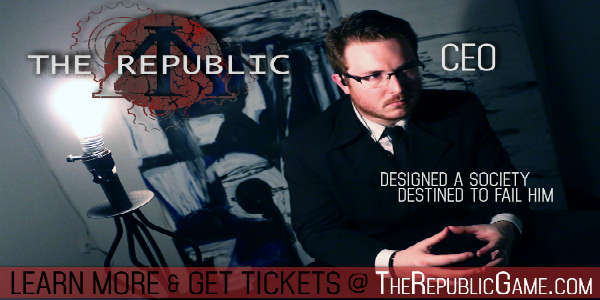 The Republic interactive theater in Orlando - the CEO