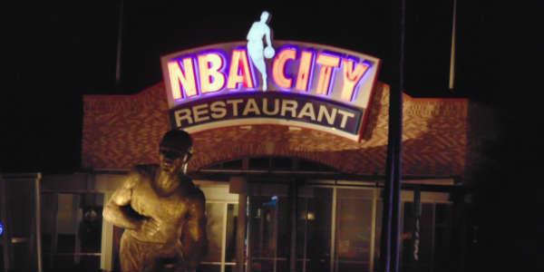 NBA City at Universal Orlando CityWalk