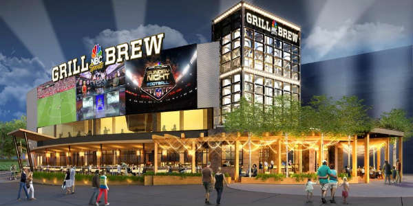 NBC Sports Grill & Brew at Universal Orlando