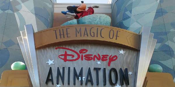 Magic of Disney Animiation Attraction at Disney's Hollywood Studios