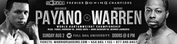 Payano vs. Warren: Premier Boxing Champions