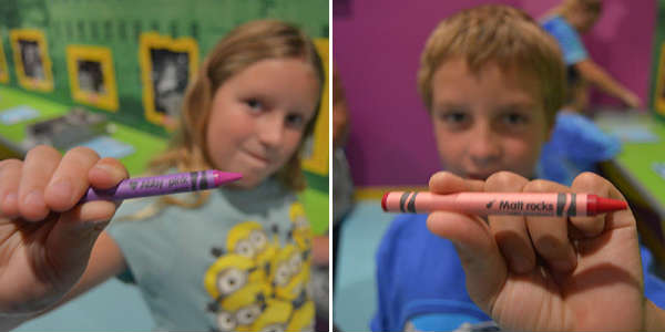 Crayola Experience opens at the Florida Mall - Naming Crayons by Kirk Garreans