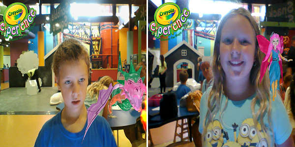 Crayola Experience opens at the Florida Mall - Crayola Magic by Kirk Garreans