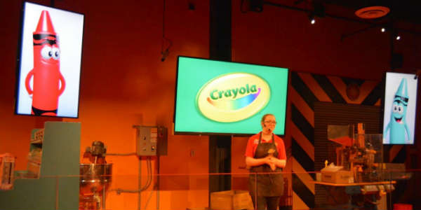 Crayola Experience opens at the Florida Mall - Factory Fun by Kirk Garreans