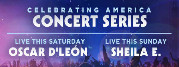 Oscar D' León and Sheila E. Add Latin Flair to SeaWorld Orlando Summer Nights