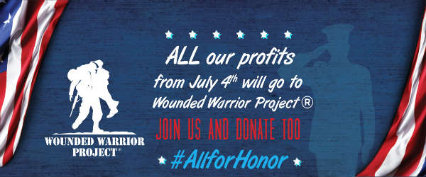 Winn-Dixie to Donate 4th of July Profits to The Wounded Warrior Project