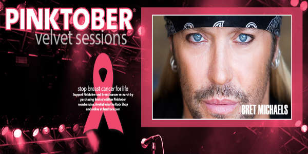 Velvet Sessions at the Hard Rock Hotel Presents Bret Michaels