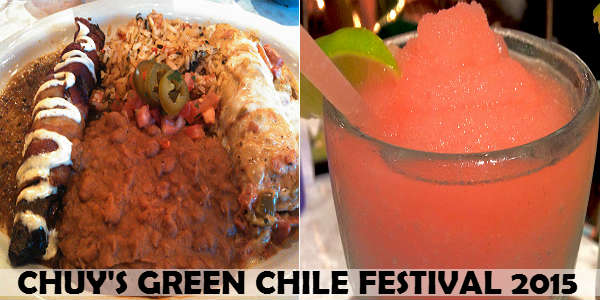 Chuy's Kicks Off Green Chile Festival