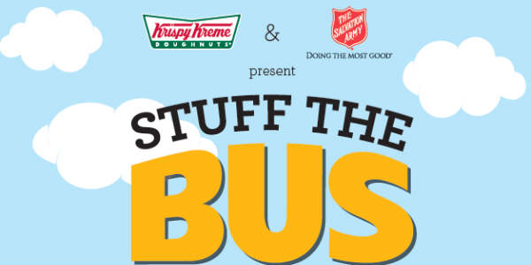 Krispy Kreme Stuff the Bus Campaign
