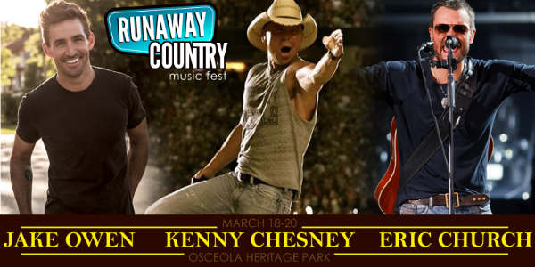 Runaway Country 2016 - Jake Owen, Kenny Chesney, Eric Church