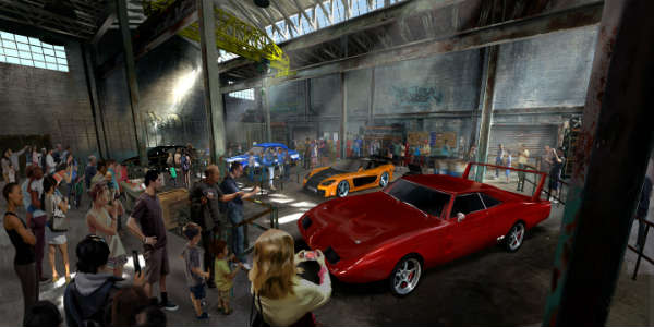 Universal Orlando announces Fast & Furious: Supercharged