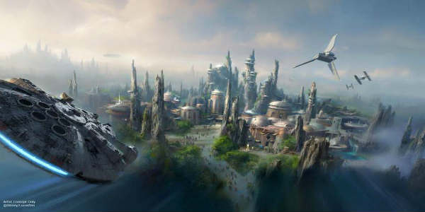 Star Wars Land Announced for Disney's Hollywood Studios