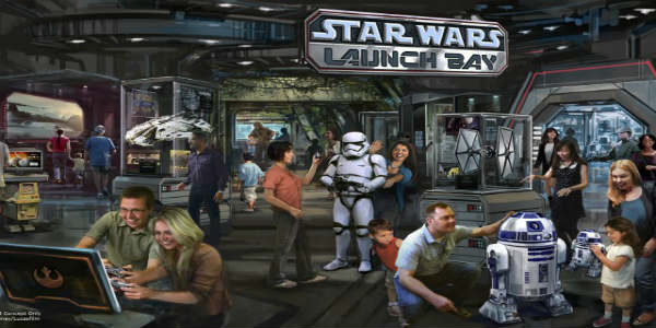 Star Wars Launch Bay Coming to Disney's Hollywood Studios