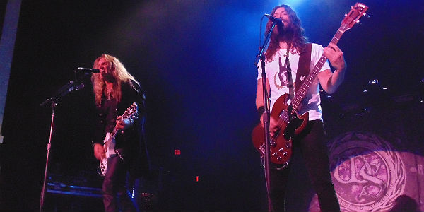 Joel Hoekstra and Michael Devin of Whitesnake at Hard Rock Live Orlando by Michelle Snow