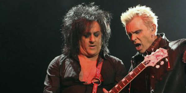 Billy Idol and Steve Stevens at Hard Rock Live Sept 23 2015