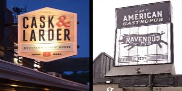 Cask & Larder and Ravenous Pig