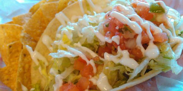 Jimmy Hula's Restaurant Malibu fish taco