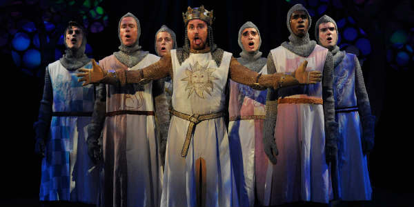 Orlando Shakespeare Theater Presents Monty Python's SPAMALOT - King Arthur and the Knights of the Round Table