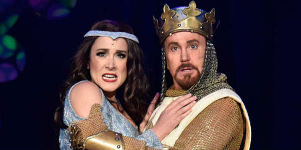 Orlando Shakespeare Theater Presents Monty Python's SPAMALOT - Dee Roscioli and Davis Gaines