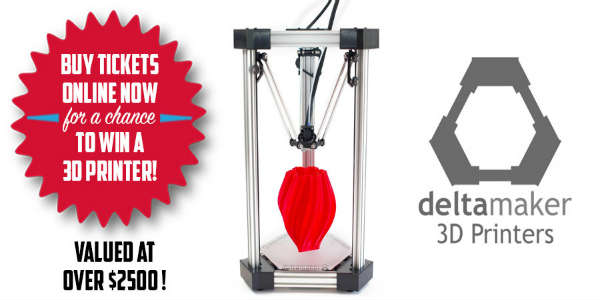 win a Deltamaker 3D printer package