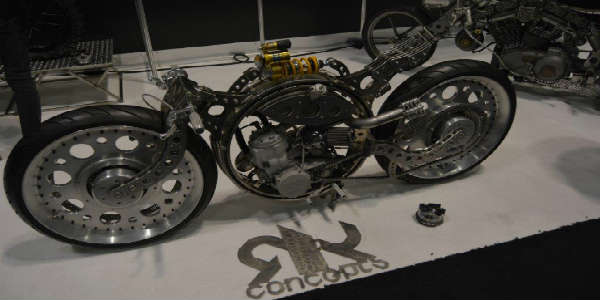 AIMExpo 2015 - concept motorcycle