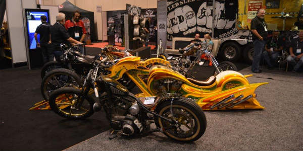 AIMExpo 2015 - motorcycles on display
