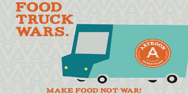 Food Truck Wars at Artegon Marketplace