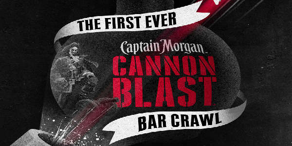 Captain Morgan's Cannon Blast Bar Crawl in Orlando