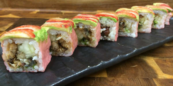 Dragonfly Robata Grill & Sushi - Pink Soldier sushi