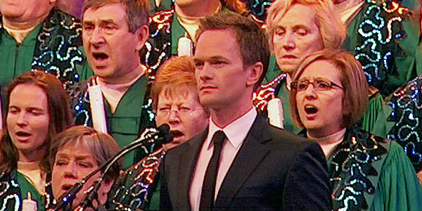 Candlelight Processional at Epcot - Neil Patrick Harris