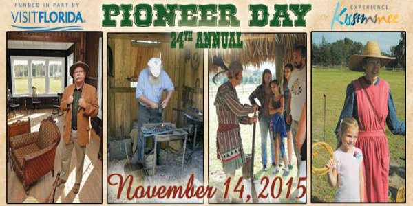 Pioneer Day at the Osceola County Historical Society's Pioneer Village