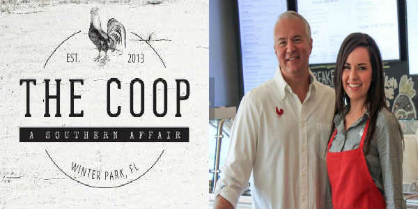 Chef John Rivers and Chef Whitney Miller at The COOP in Winter Park
