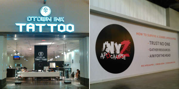 OTown Ink Tattoo and NYZ Apocalypse at Artegon Marketplace