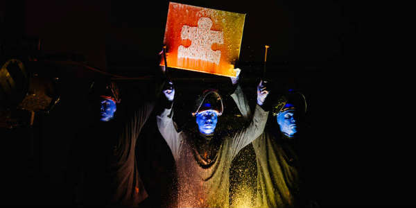 Blue Man Group Orlando Supports Autism Speaks