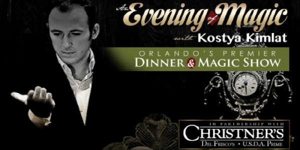 Christner's Prime Steak & Lobster Hosts 6th Annual Festival of Magic