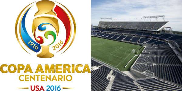 Copa America Centenario 2016 at the Orlando Citrus Bowl
