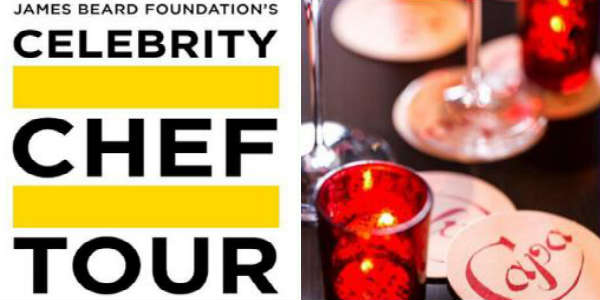 James Beard Foundation's Celebrity Guest Chef Tour at Capa at Four Seasons Orlando