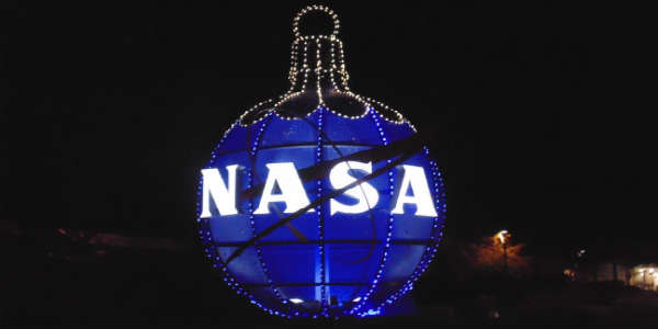 Holidays In Space at Kennedy Space Center Visitor Complex - NASA ornament