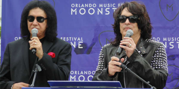 KISS members Gene Simmons and Paul Stanley talk about Moonstone Music Festival