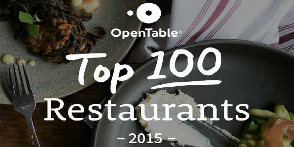 OpenTable 100 Best Restaurants in America