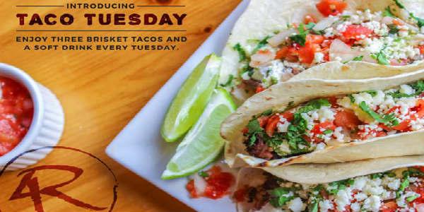 4 Rivers Brisket Street Tacos