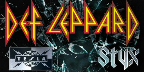 Def Leppard Tour Comes to Orlando with Styx and Tesla