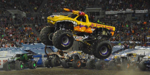 El Toro Loco at Monster Jam in Tampa Jan 16 2016 by Kirk Garreans