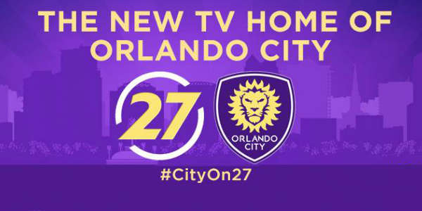 Orlando City SC games to be broadcast on Orlando's WRDQ TV 27