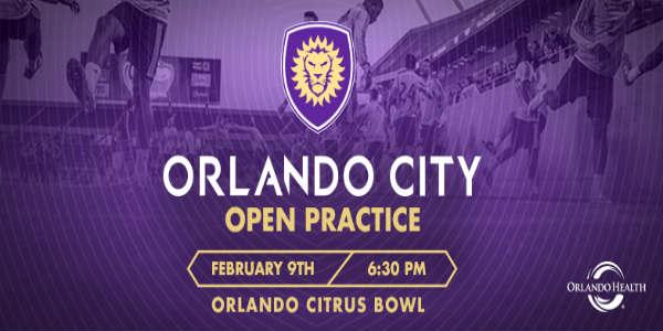 Orlando City  Free Open Soccer Practice