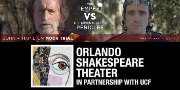 8th Annual John R. Hamilton Mock Trial - Orlando Shakespeare Theater