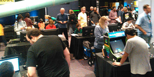 Indie gaming at Otronicon at the Orlando Science Center