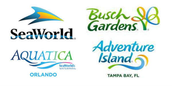 SeaWorld Orlando, Busch Gardens Tampa, Aquatica Orlando, and Adventure Island Tampa Bay