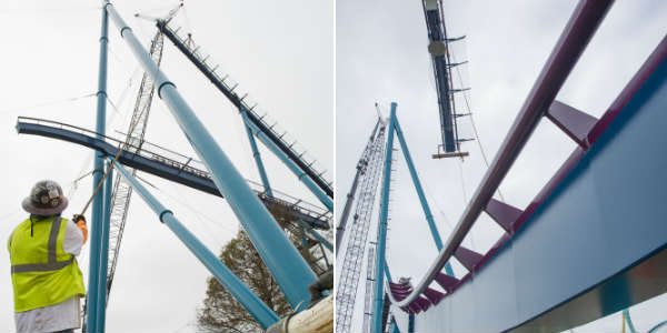 SeaWorld Orlando Tops Off Mako Coaster